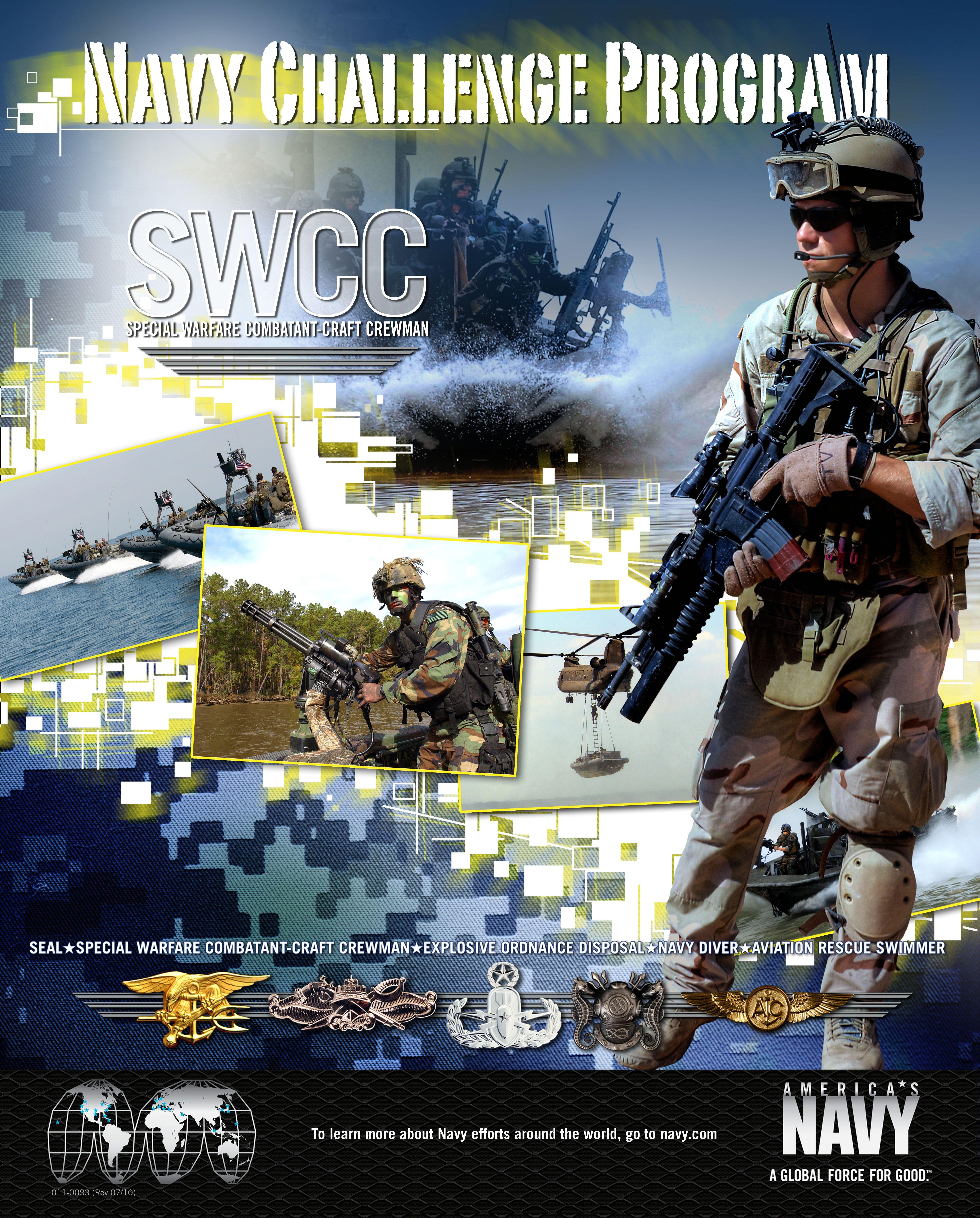 Navy Challenge Program Swcc Navy Navy Military Navy