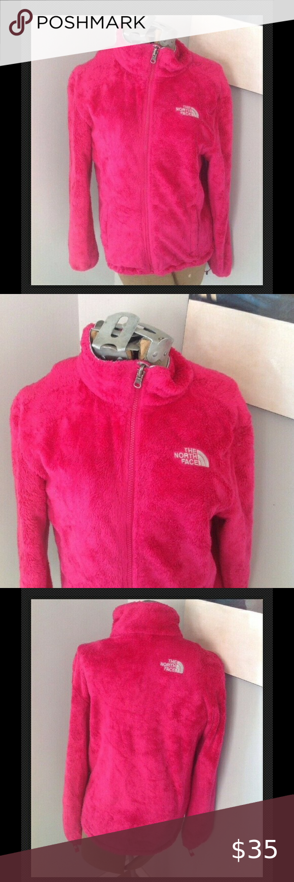 The North Face Osito Fuzzy Hot Pink Jacket Sp Pink Jacket North Face Osito Pink Fuzzy Jacket [ 1740 x 580 Pixel ]