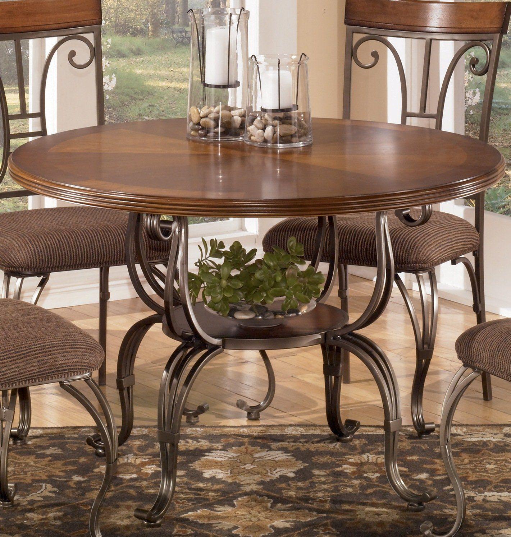 Ashley Furniture Signature Design   Plentywood Dining Table Base ...