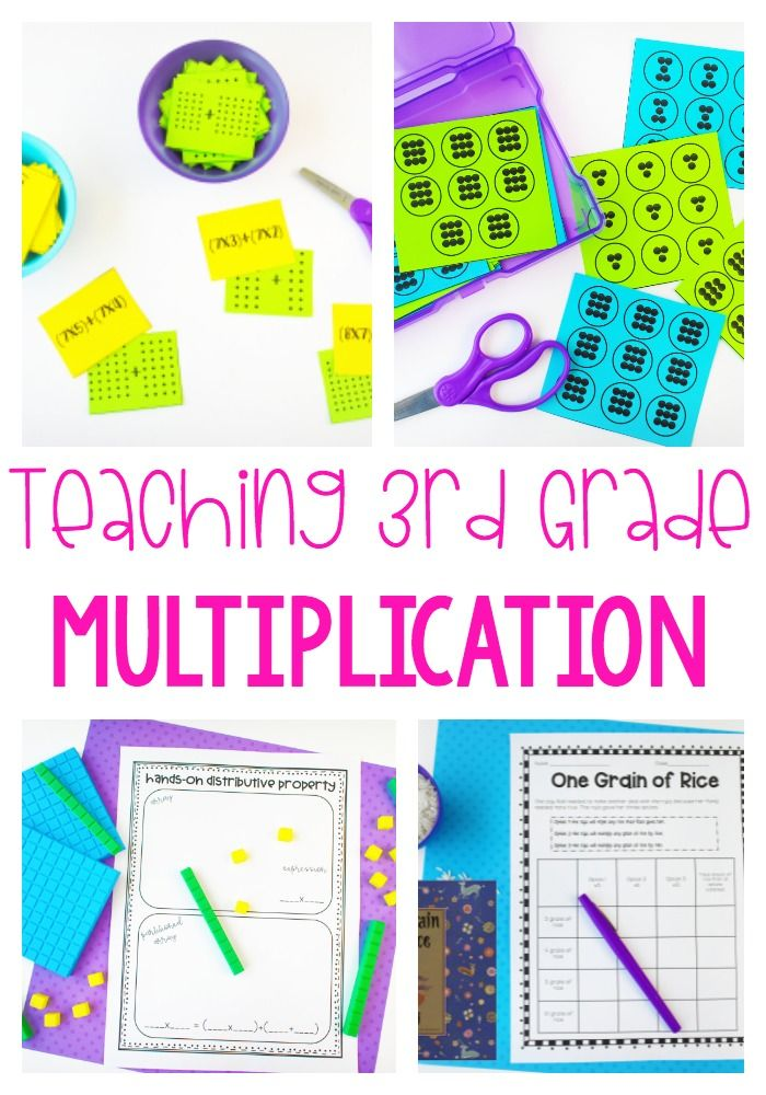 This really does have it all! There are conceptual lessons, games, word problems, and so much more in this multiplication unit!
