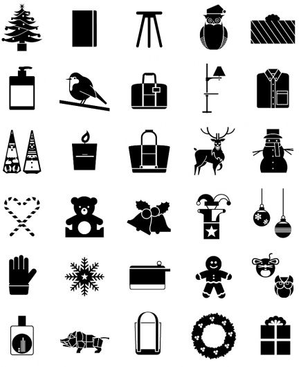 Christmas Iconography.Designspiration Monocle Christmas Iconography