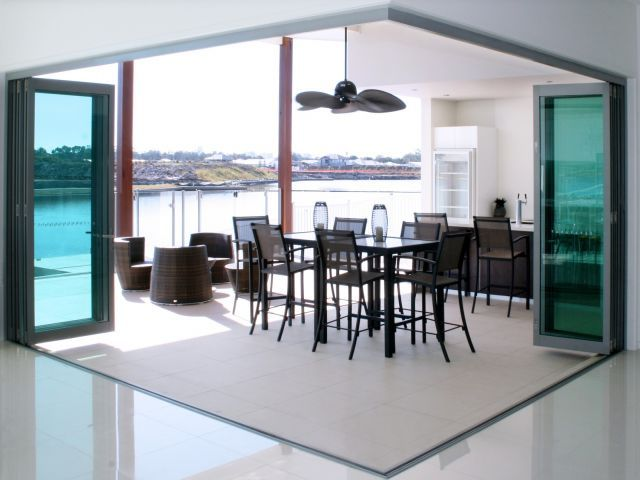 Alfresco Living With Stacker And Bifold Doors By Trend