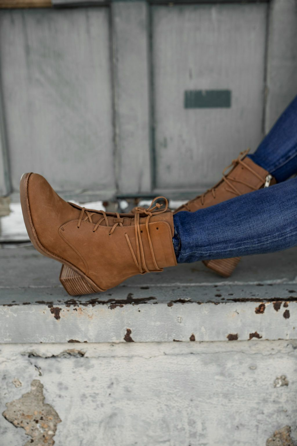 My Favorite Lace-Up Boots for Fall #fallshoes