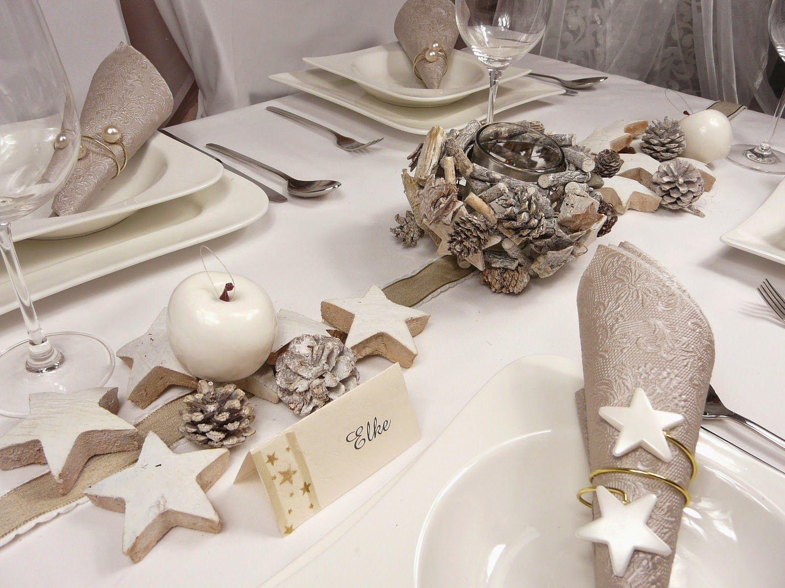 tischdeko weihnachten ideen  GoogleSuche  Weihnachts Tischdeko  Table decorations Wedding