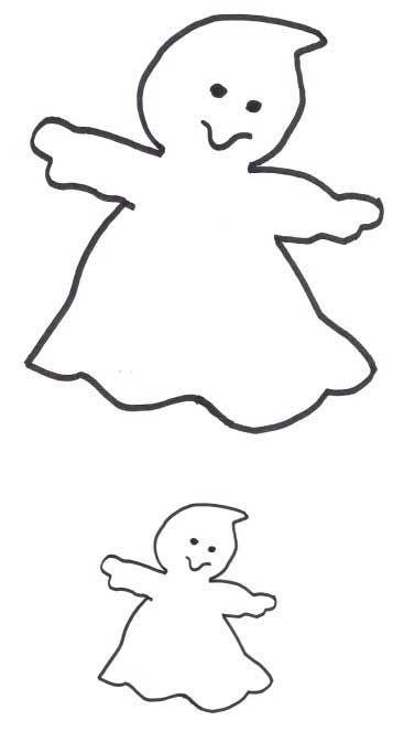 Ghost applique pattern diy and crafts pinterest for Herbstblatter vorlage