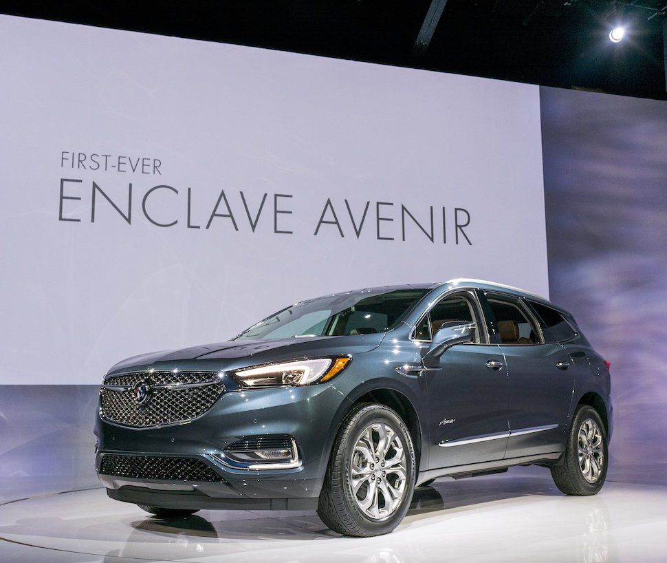 All New 2018 Buick Enclave Avenir