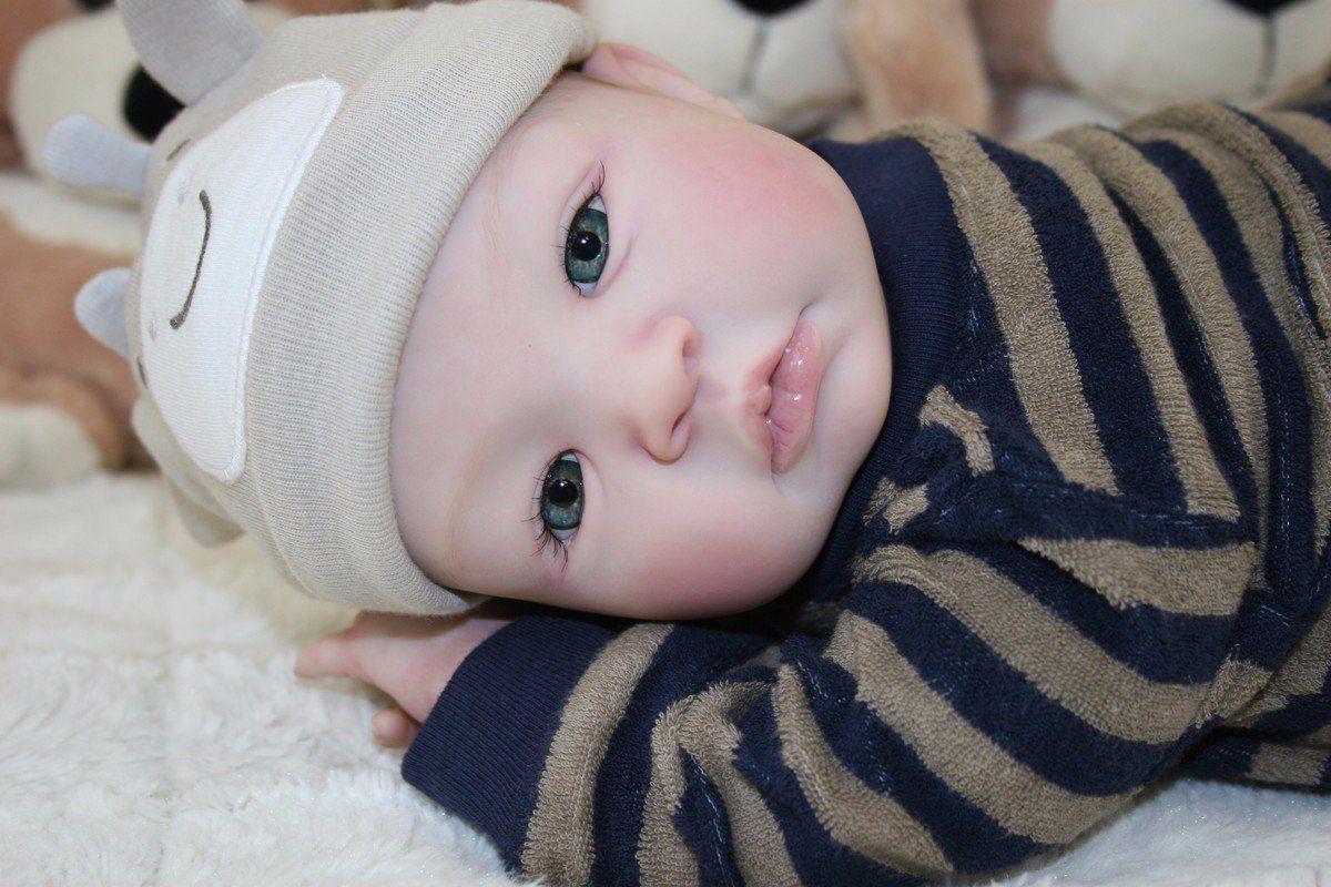 efd7c069f Bebê Reborn Carequinha Lindo Menino