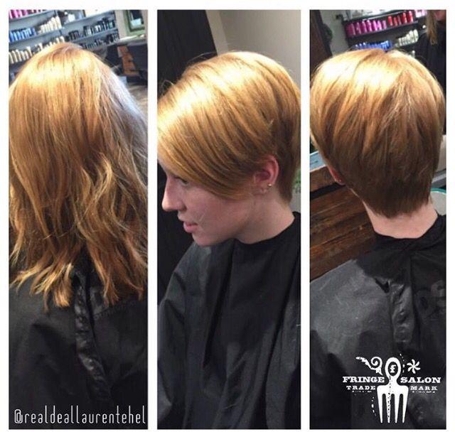Haircut By Lauren Tehel Fringe Salon Wichita Ks Best Hair Stylist Oval Face Haircuts Haircut Inspiration