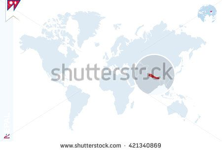 Pin by cristian chiriac on nepal pinterest nepal flag flag pins world map with magnifying on paraguay blue earth globe with paraguay flag pin zoom on paraguay map vector illustration buy this stock vector on gumiabroncs Image collections