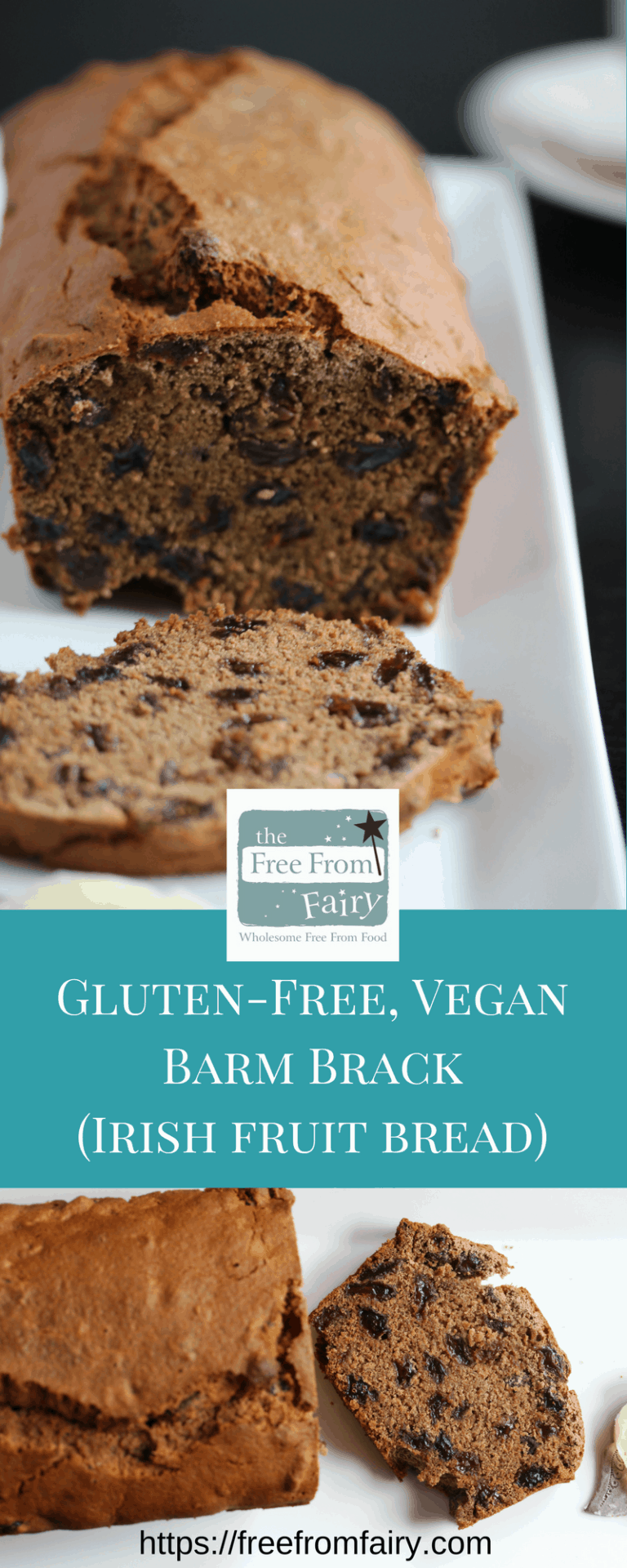 Gluten Free Tea Loaf Barmbrack Vegan The Free From Fairy Recipe In 2020 Gluten Free Afternoon Tea Food Tea Loaf
