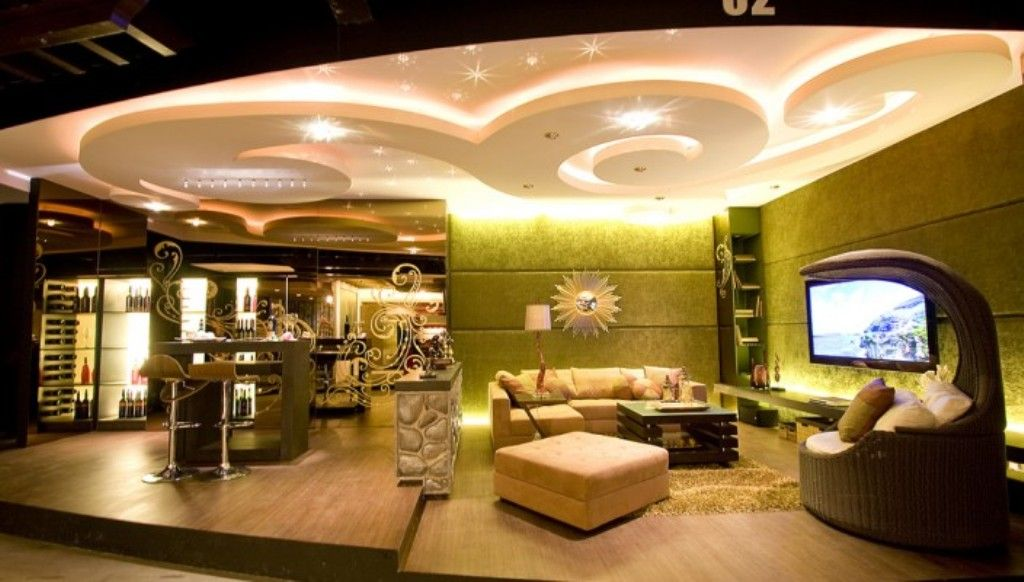 Ceiling Design For Living Room Fascinating Latest Textured Ceiling Décor 2016  Living Room Decorating Ideas Decorating Design
