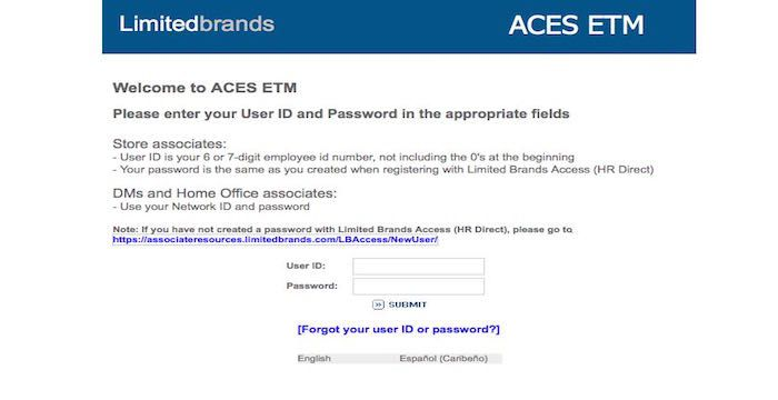 Aces Limited Brand Login - New Happy Quotes