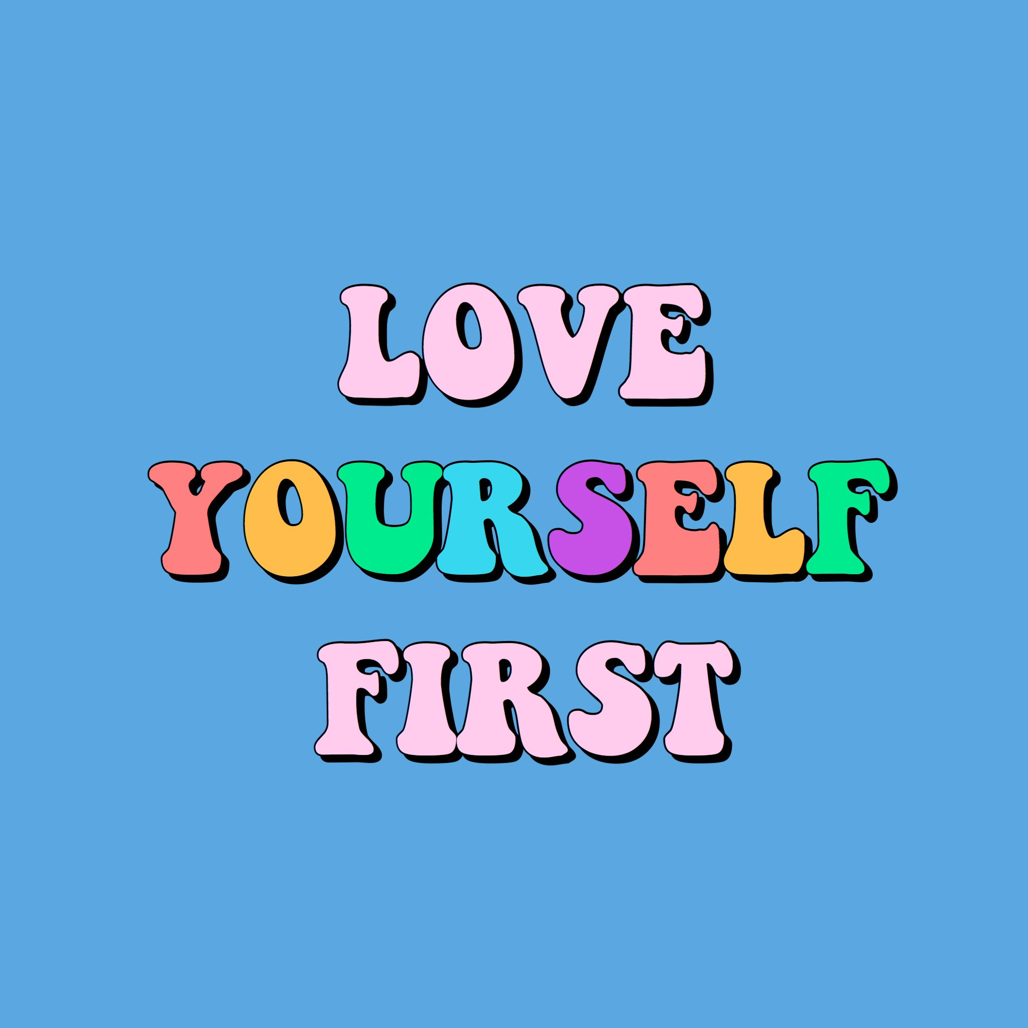Pinterest Kelldianee Love Yourself First Quotes Happy Words Quote Aesthetic