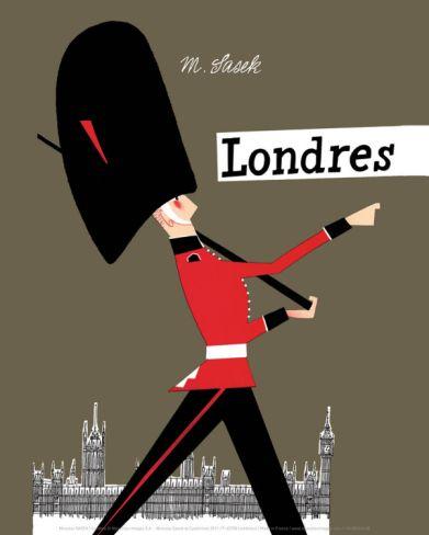 London Art Print Miroslav Sasek Art Com London Art Print London Poster London Art