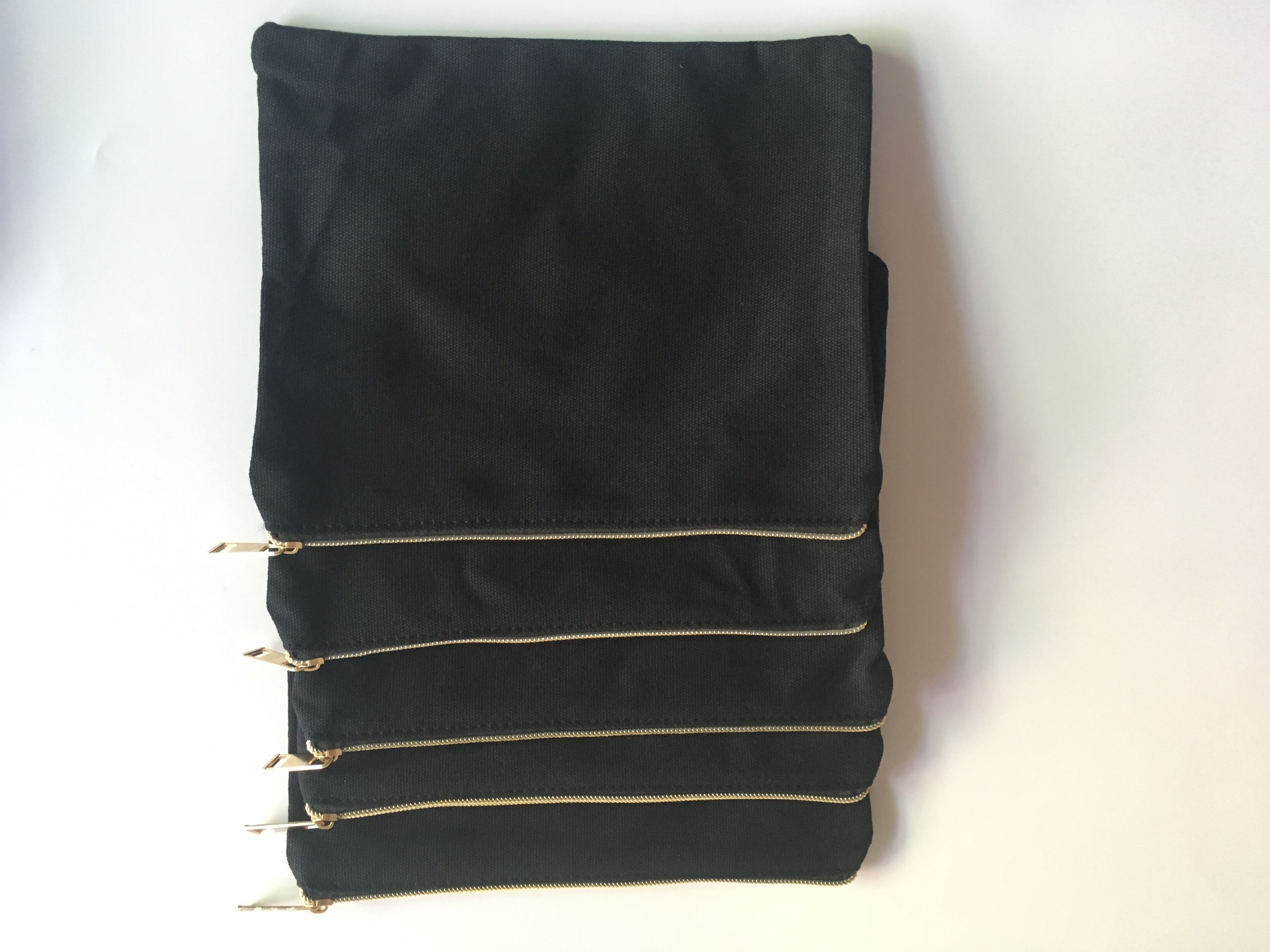 9*7 inch blank wholesale cosmetic bag Cotton bag