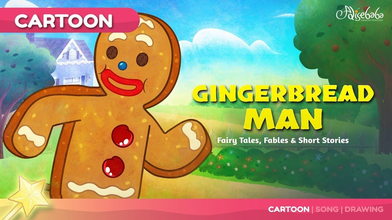 The Gingerbread Man Kids Story Bedtime Stories for Kids