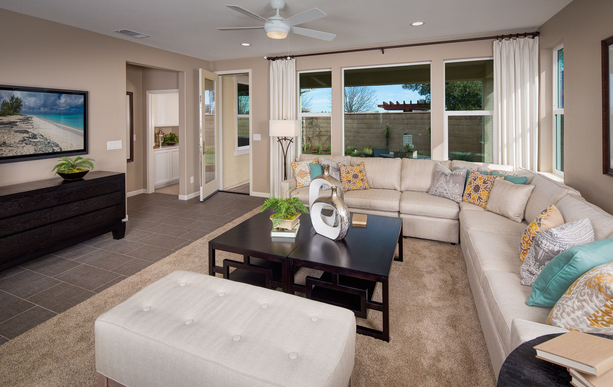 Marquesa - Plan 2 - Living Room