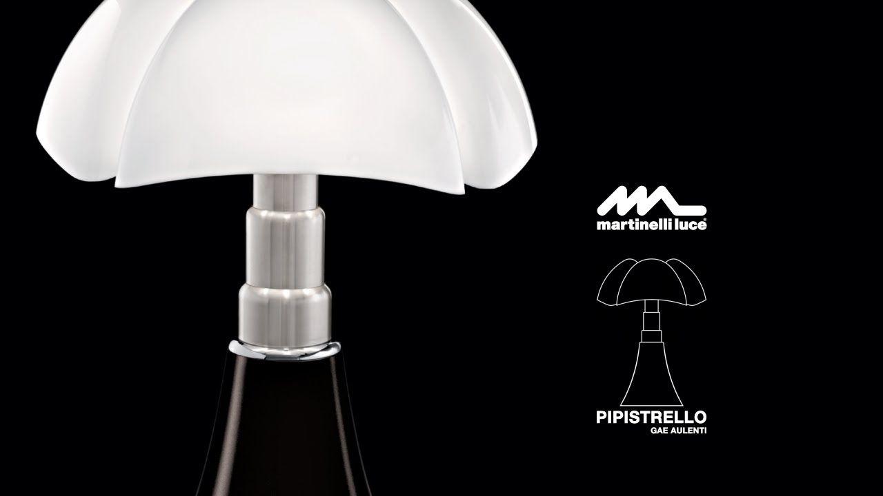 We Introduced You A New Video About 50th Anniversary Of Pipistrello Lamp 1965 2015 Http Pipistrello Martinelliluce It Pipistrello Lampade Design