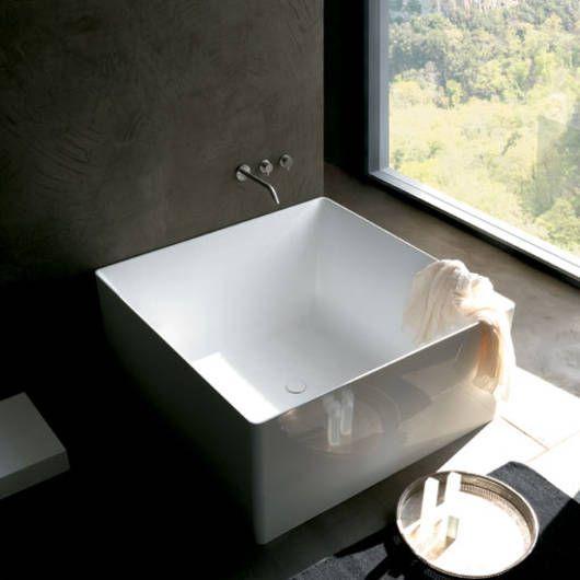 Quadratische Badewanne atmosfere 01 dual quadrata colacril by sanikal badewanne