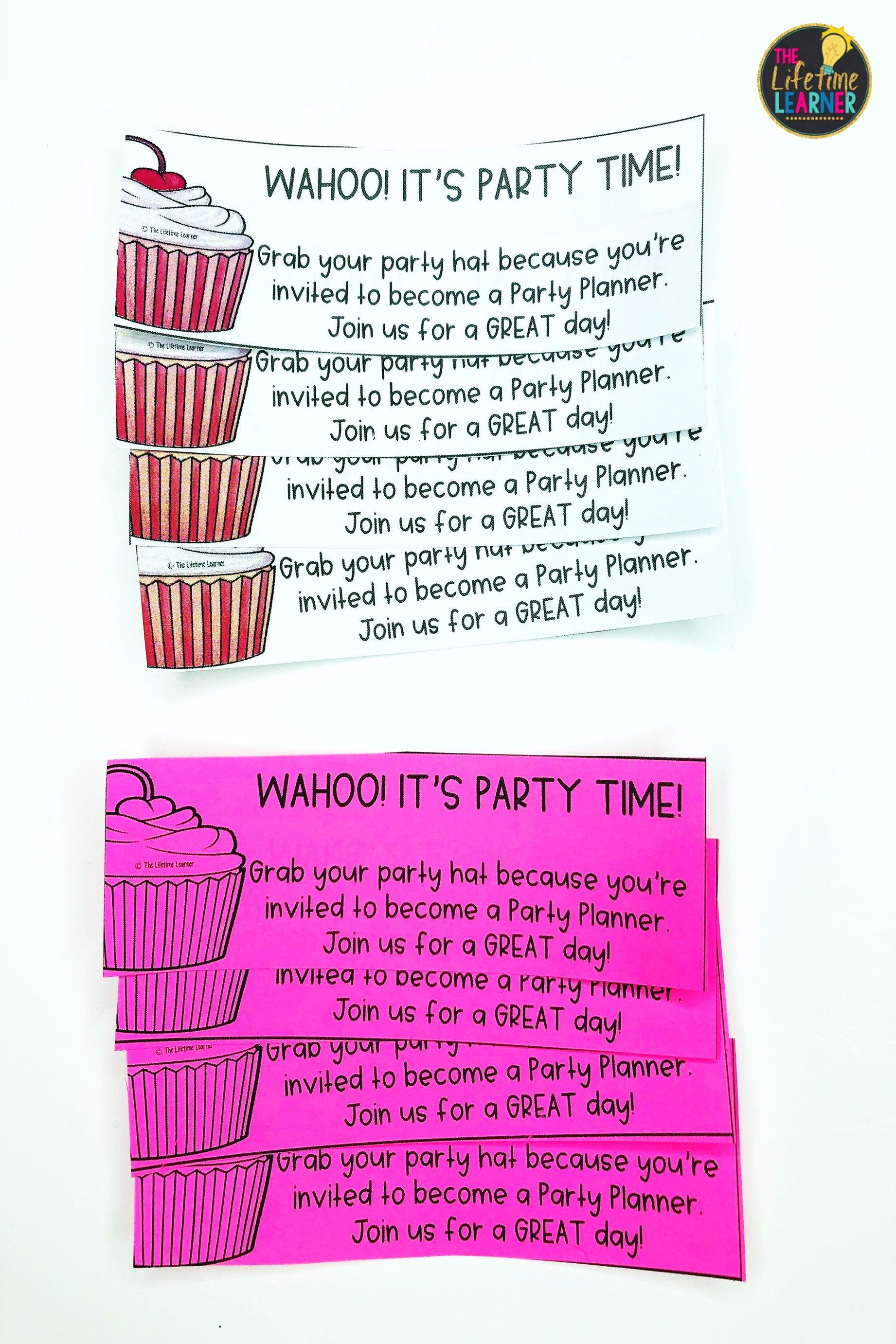 Party Classroom Transformation
