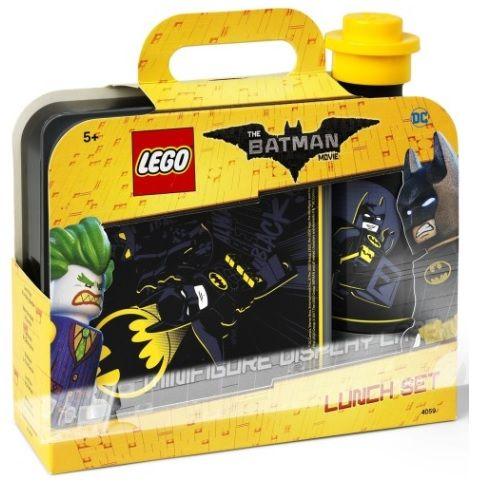 Handige 2-in-1 Lunchset van LEGO Batman Movie: broodtrommel en drinkfles.