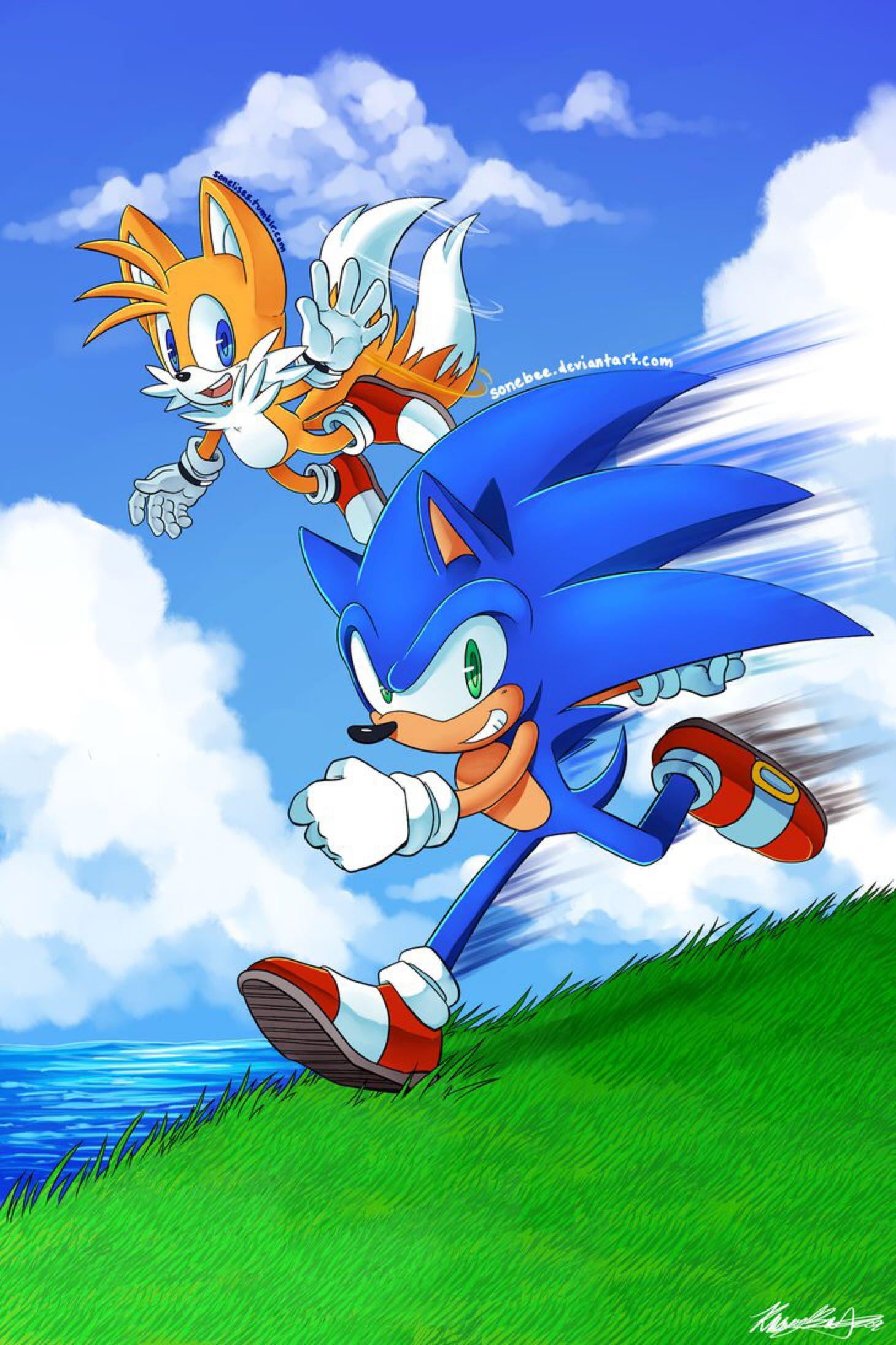 We Ll Run Away Old 2015 By Sonebee On Deviantart Sonic The Hedgehog Hedgehog Art Classic Sonic