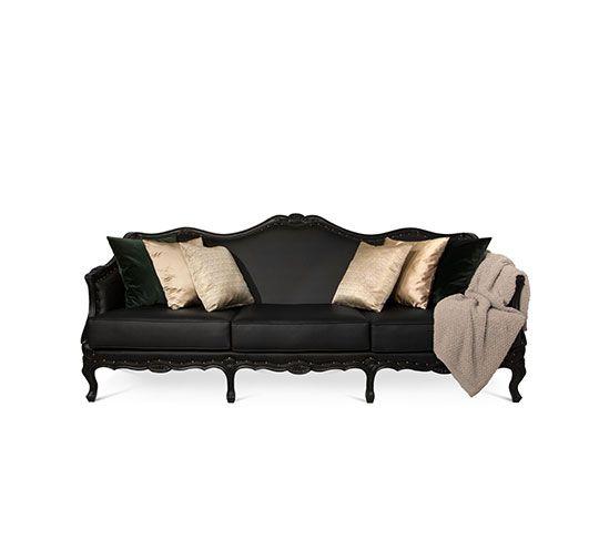 Samt Sofa Velvet Sofa Luxus Wohnzimmer Luxury living room