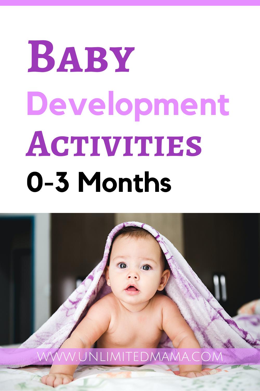 Baby Development Activities 0-3 Months