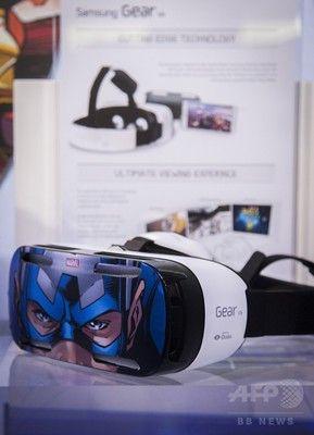 サムスン「Gear VR」 仮想現実(VR)ヘッドセット
