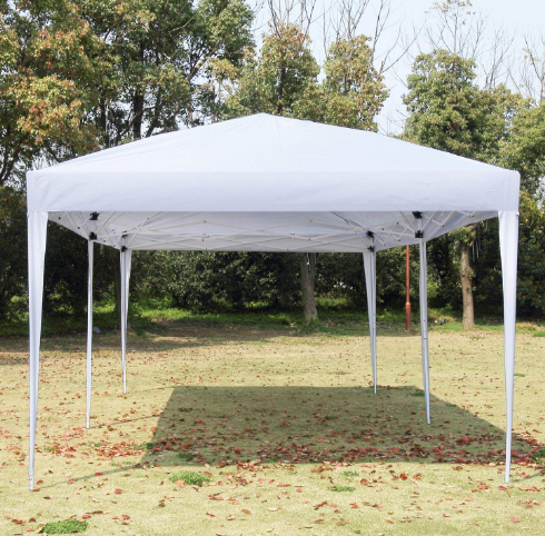 Nsdirect 10 X 10 Ft Outdoor Party Tent Easy Pop Up Canopy With Carrying Case Bag Gazebo Pavilion Wedding Party Patio Insta Gazebo Replacement Canopy Party Tent
