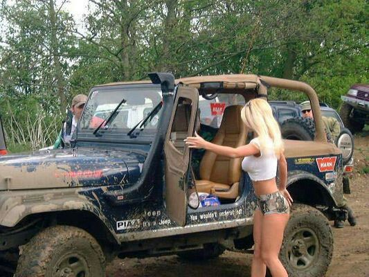 Hot jeep girl pictures