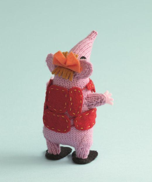 Original Clangers Knitting Pattern Knitting Patterns Pinterest