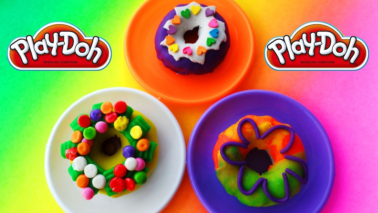 Play Doh Donat Warna warni