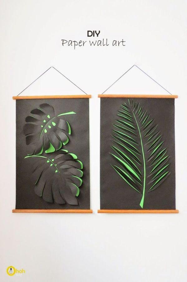 DIY Paper Wall Art by deidre