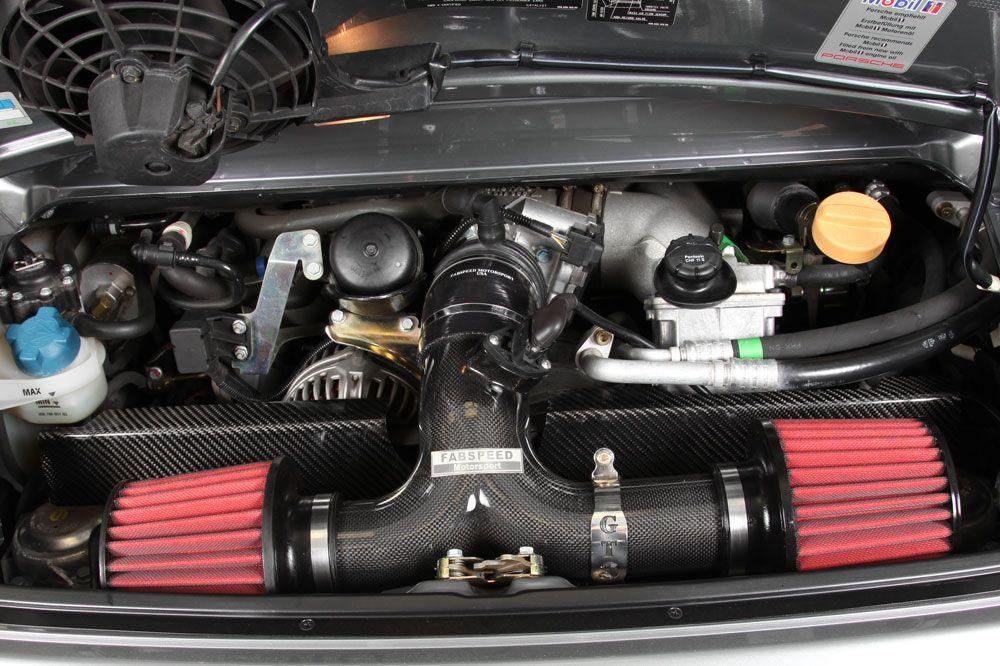Philip Klotz Adds Aem Universal Air Filters To Porsche 996 Gt3