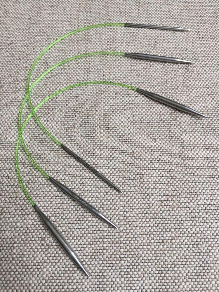 US 4-11 Foursquare Knit Picks Options Square Wood Interchangeable Knitting Needles Set