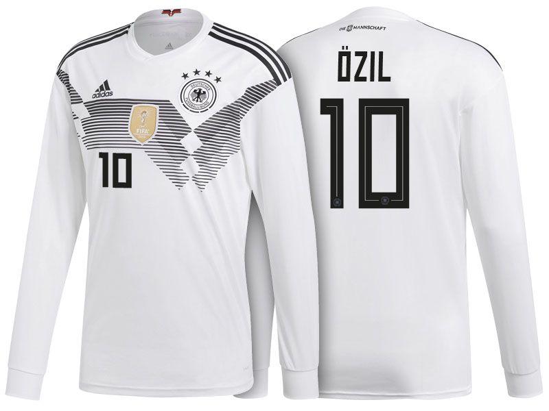 big sale d399c f8d47 Germany Shirt 2018 World Cup LS mesut ozil Home Soccer ...