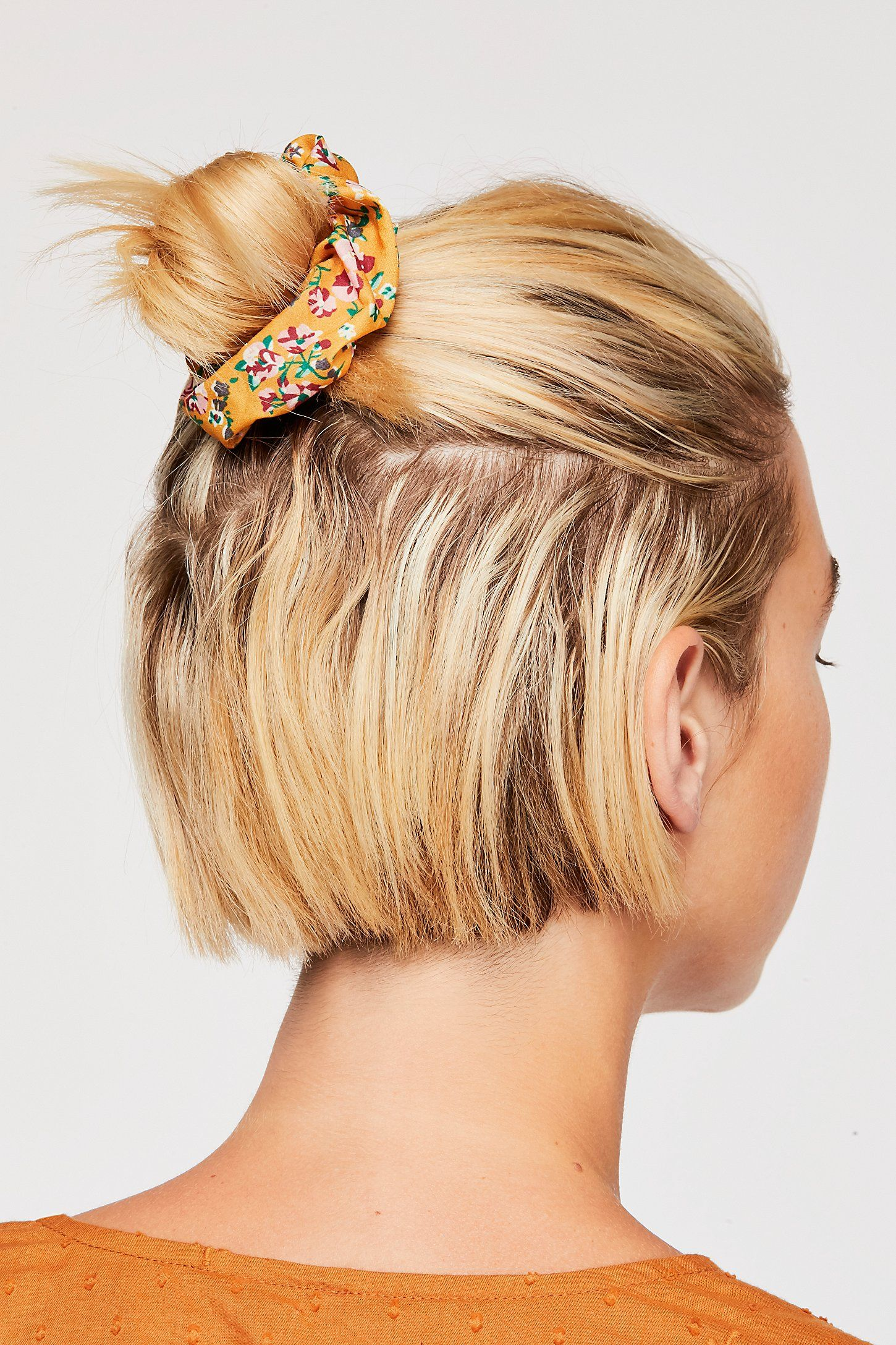 Sugar Scrunchie Medium Thin Hair Hairstyles For Thin Hair Short Hair Styles