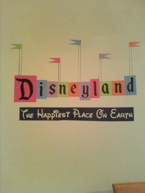 Retro Disneyland Sign- Wall Vinyl