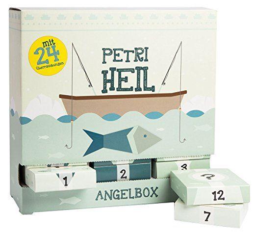 selbst f r angler gibt es einen adventskalender mit wurmharken sbirolinohaken maden tee. Black Bedroom Furniture Sets. Home Design Ideas