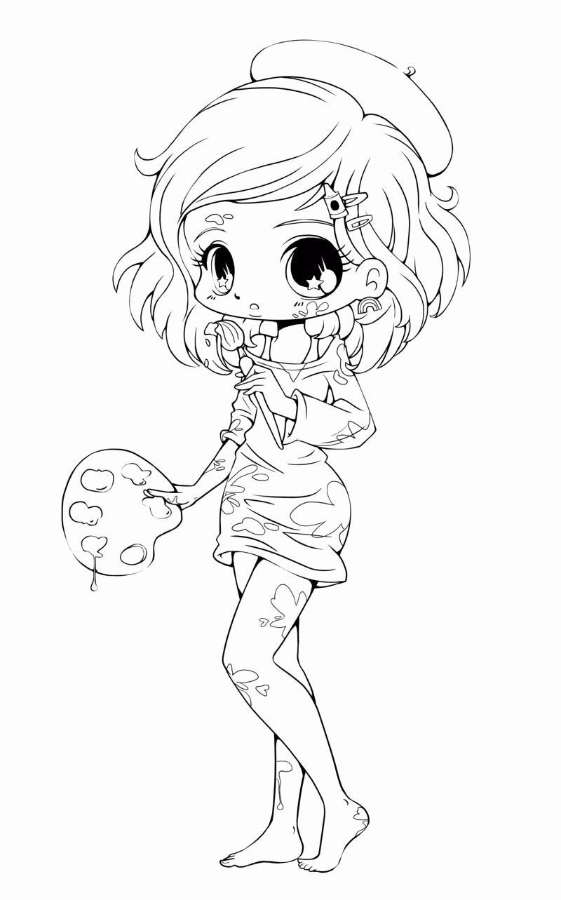 30++ Chibi food girl coloring pages ideas