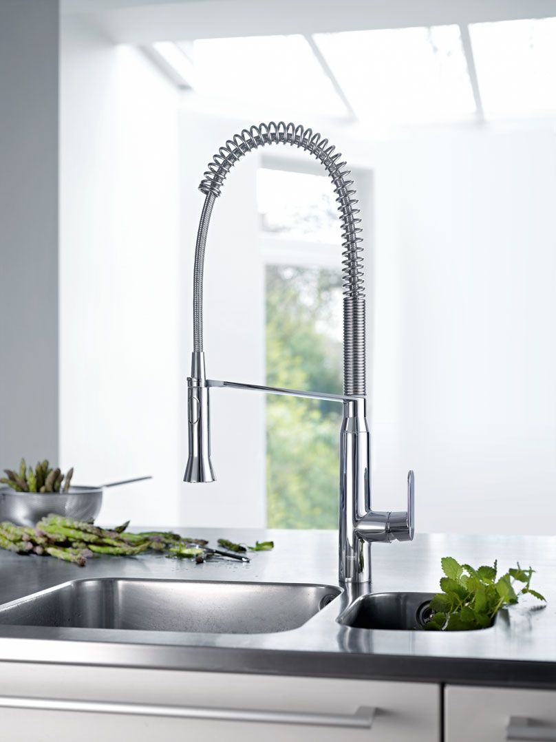 GROHE K7 Semi-Pro Kitchen Faucet : professional kitchen faucets - hauntedcathouse.org