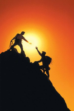 Strive to go higher. Join us for the 2013 Atlas Summit in D.C.  http://www.atlassociety.org/as | Mountain climbers, Climbers, Photo