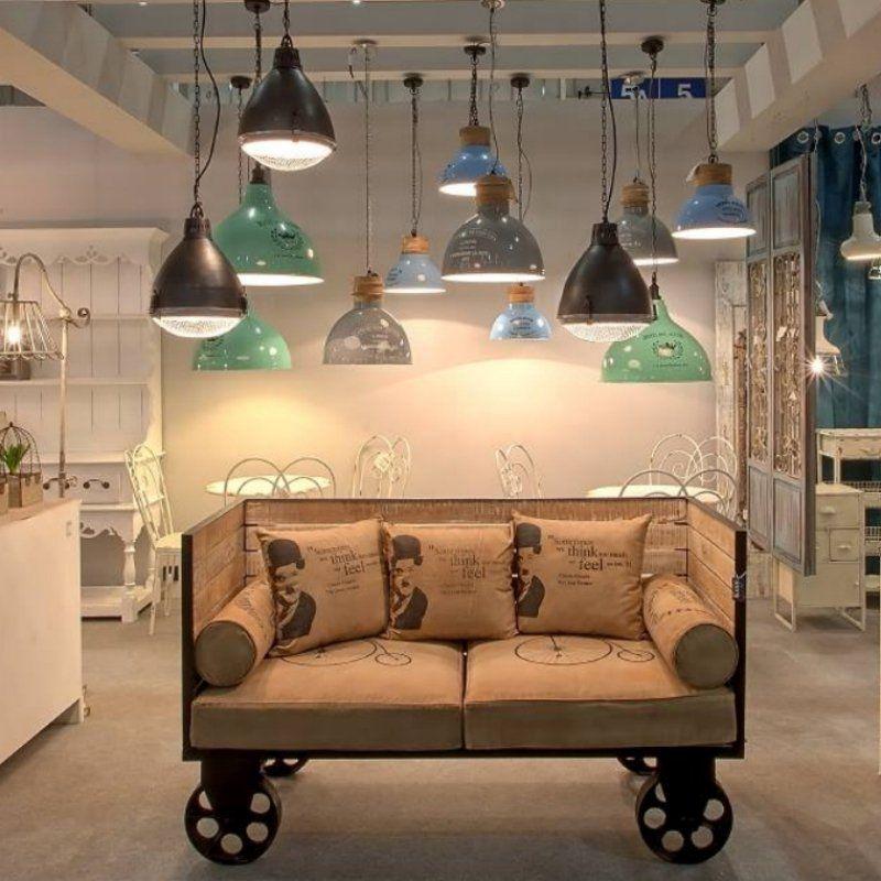 Lampa ALURO INDUSTRIAL ATELIERS - industrialna lampa w stylu loft - NieMaJakwDomu
