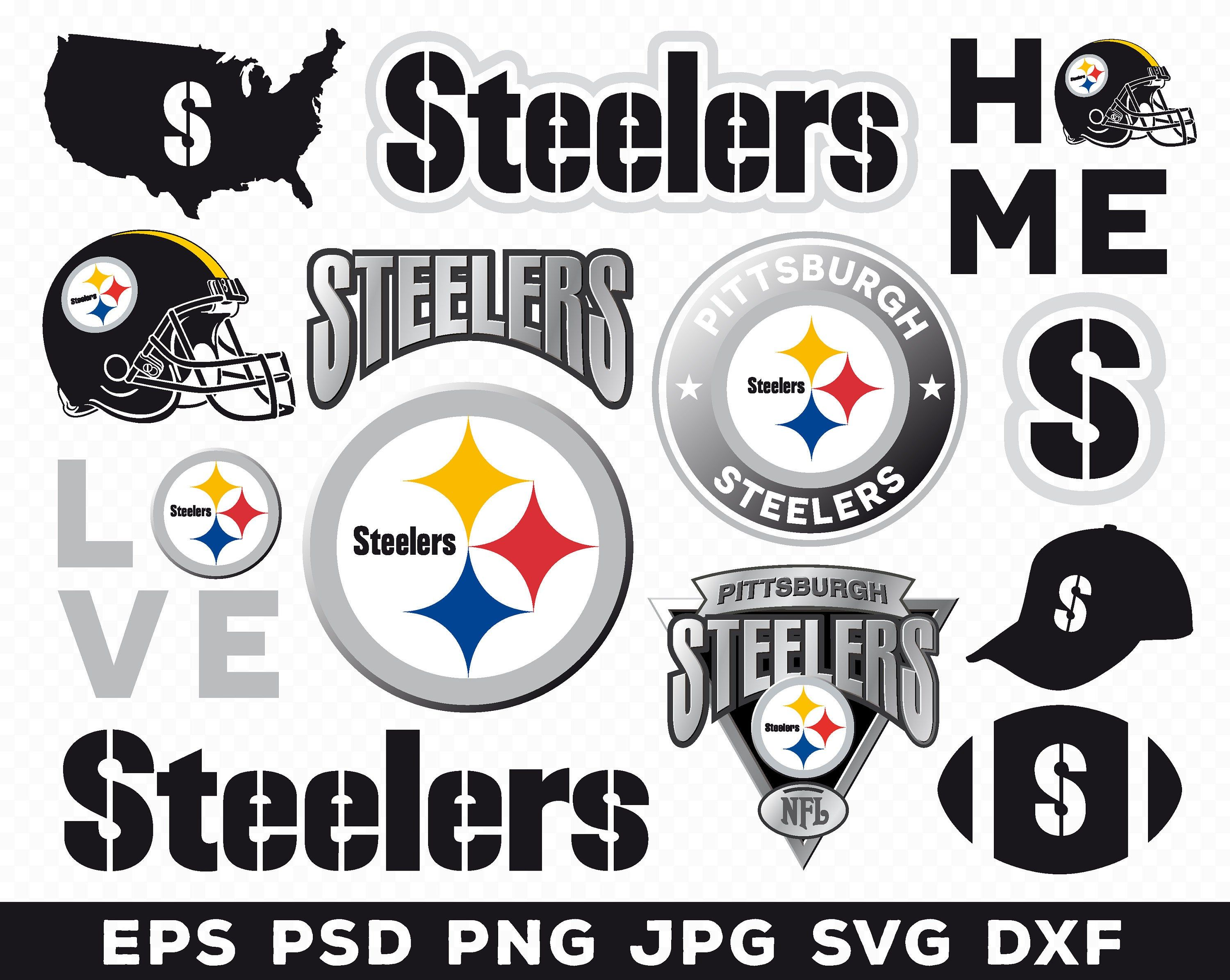 Pittsburgh Steelers, Pittsburgh Steelers logo, Pittsburgh