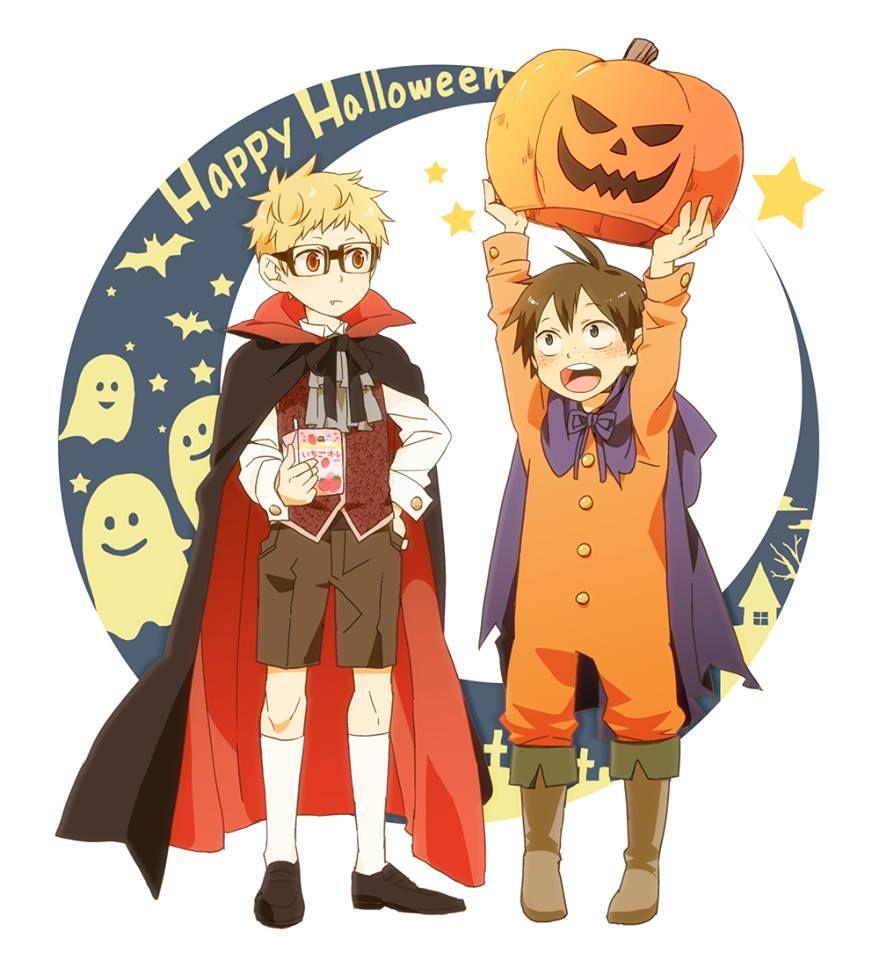 jajajaaj si ya paso halloween pero es inevitable no amar el TsukiYama (/・ω・)/
