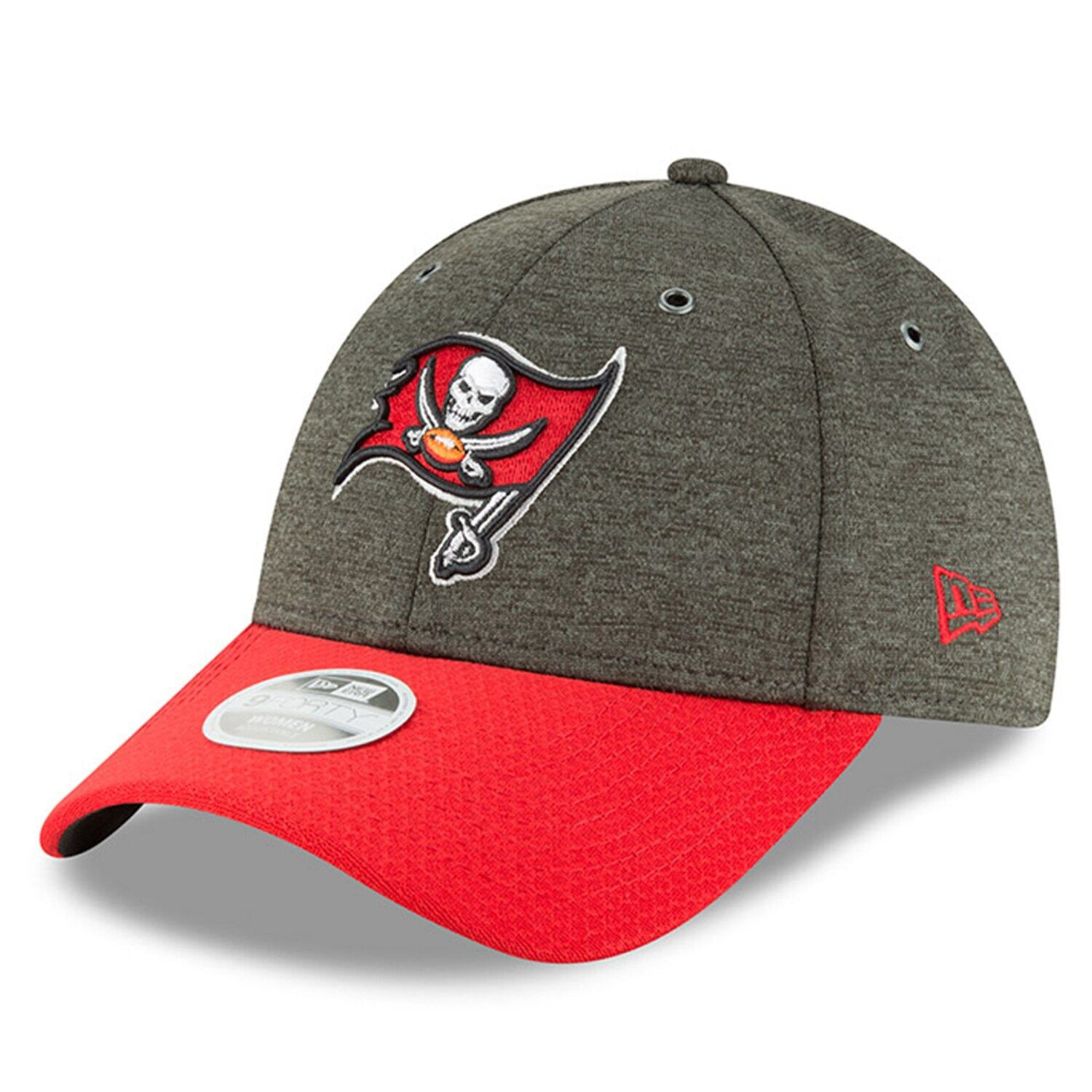 Women S New Era Pewter Red Tampa Bay Buccaneers 2018 Nfl Sideline Home 9forty Adjustable Hat Adjustable Hat Hats New Era