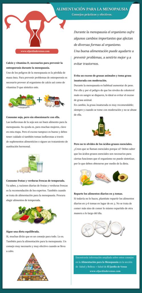 que fruta es buena para la menopausia