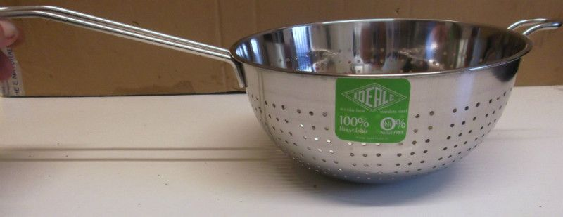 Ipac Ideale Stainless Steel 20 cm Soup Strainer Nickel Free