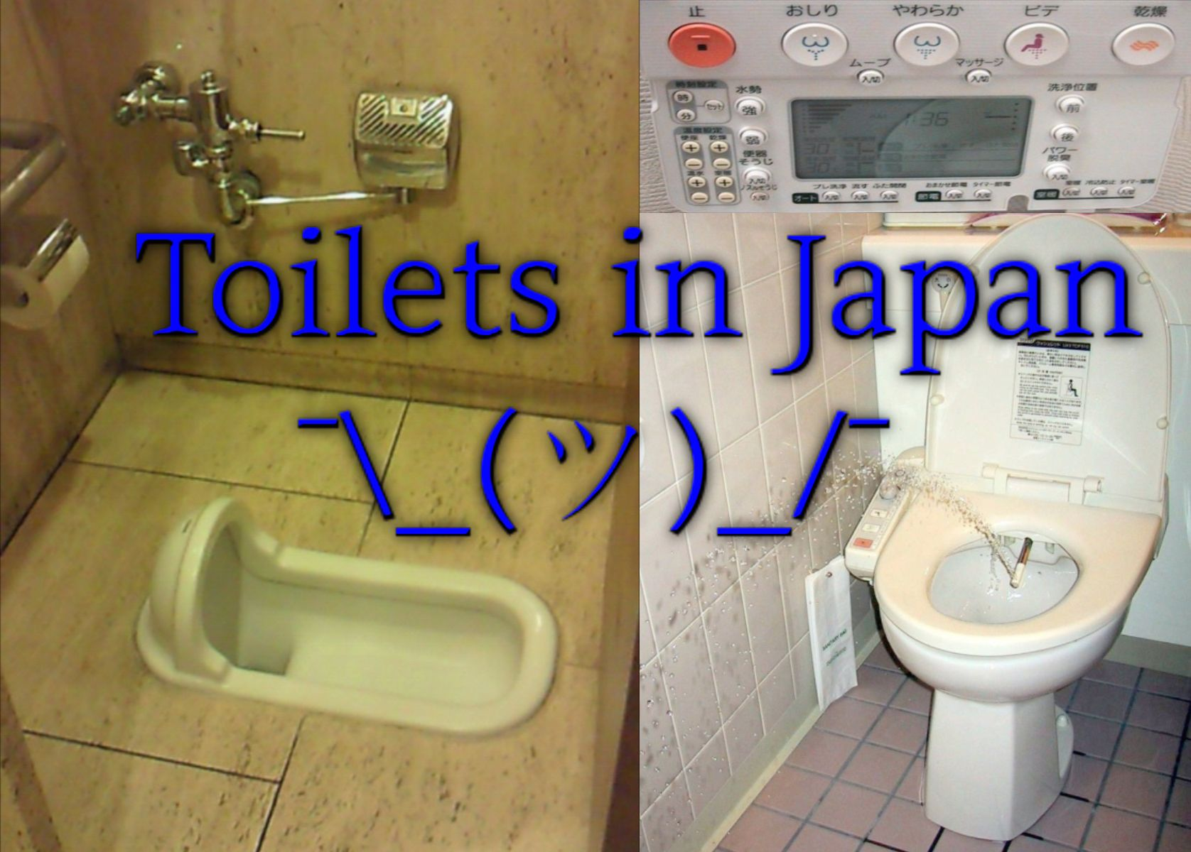 Poll reveals what we already know: Japanese toilets make no sense ...